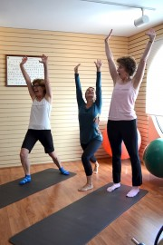 Exercise and Age - Finishing A set