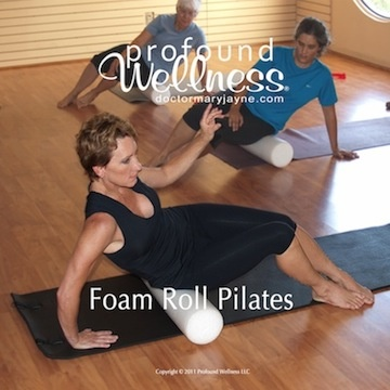 foam roll pilates dvd cover